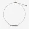 Autumn Leaf Silver Necklace 1