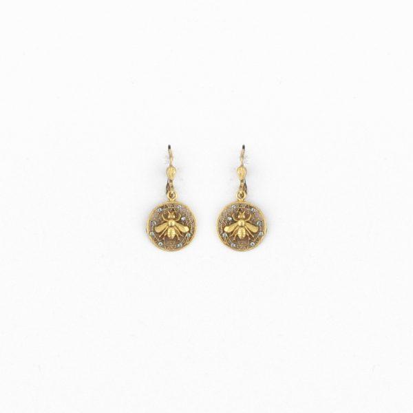 Honeycomb Earring 1