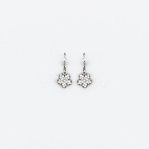 Petite Van Silver Earring