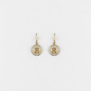 Vintage Bee Earring